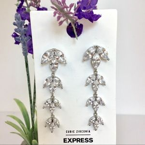 Express Cubic Zirconia Earrings